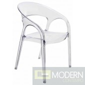Vapour Dining Chair by Nuevo