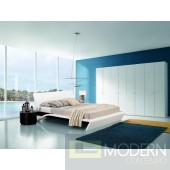 Modrest Orca - Contemporary Platform Bed with Lights