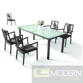 H10 - 5 Pieces Modern Dining set