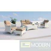 Renava Coral Patio Sofa Set