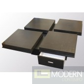 A&X Modern Wenge coffee table 8879a