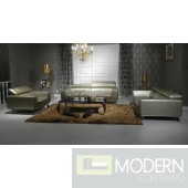 Divani Casa Brustle Modern Leather Sofa Set
