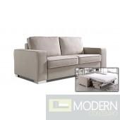 Divani Casa Sultan - Modern Fabric Sectional Sofa Bed