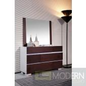 Modrest Anzio - Modern Six Drawer Espresso Dresser