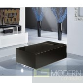 Modrest Modena - MO114 Made in Italy Modern Black Storage Unit