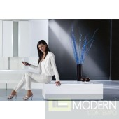 Modrest Modena - MO114 White Modern Storage Unit Made in Italy