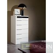 Modrest Impera - White Lacquer Bedroom Chest