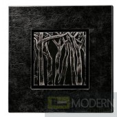 Modrest Rilievo Tree Leather Art Wall Hanging