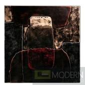 Modrest Rilievo Leather Art Wall Hanging