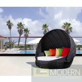 Outdoor Round Day Bed With Canopy