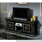 Modrest Rossella - Classic Black and Gold TV Unit