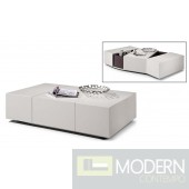 Modrest P592A - Modern Grey Coffee Table