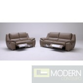Divani Casa K-1339 Modern Leather Sofa Set with Recliners