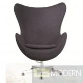 Inner Office Chair in Wool, Gray
