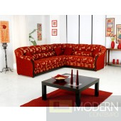 Kapadokya Red Modern Sectional Sofa