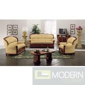 Klassica - Classic Italian Leather Sofa Set