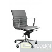 KYLER LOW BACK OFFICE CHAIR GREY