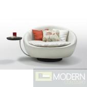 Modern White Round Leisure Chair
