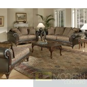 2pc Formal Traditional Raisin color Love Seat/Sofa set  MCGSL2063. MADE IN USA Free 24 to 72 hours inside delivery in DMV Area
