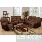 2PC Two-Tone Chocolate Loveseat and sofa  MCGSL668123 Free 24 to 72 hours inside delivery in DMV Area