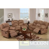 2PC Saddle Microfiber Loveseat, sofa. MCGSL668789 Free 24 to 72 hours inside delivery in DMV Area