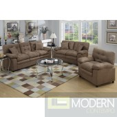 2Pc Soft Beige Microfiber Sofa and LoveSeat set  MCGSL7910 Free 24 to 72 hours inside delivery in DMV Area