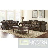 2pc Formal Traditional Onyx Princess  carved Love Seat/Sofa set  MCGSL9100. MADE IN USA Free 24 to 72 hours inside delivery in DMV Area