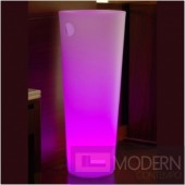 Illuminated Lighted Furniture LED Ice Bucket with Color Change Remote