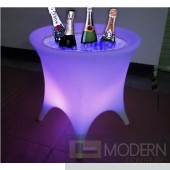 Illuminated lighted Rechargeable LED Ice Bucket with Color Change Remote