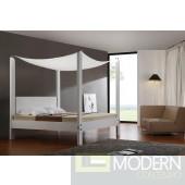 Modrest Lias - Modern Canopy Bed