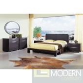 Linda Contemporary Platform bed