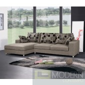 Lolana Fabric Two Seater Sectional