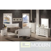 5pc Louis Philippe Bedroom Set in White MCGSB201 w/Options, Free Inside Delivery for DMV metro area.