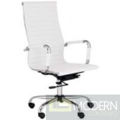 KYLER HIGH BACK OFFICE CHAIR WHITE