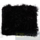 Modrest Mantova Modern Black Small Area Rug
