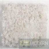 Modrest Mantova Modern White Small Area Rug