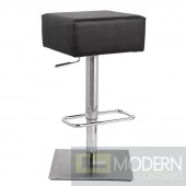 Marshmallow Bar Stool, Black