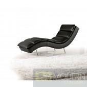 Divani Casa 1185 - Modern Eco-Leather Chaise