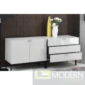 Modrest Tweedle - Modern 2-Piece Lacquer Buffet Set