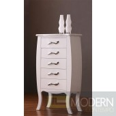Modrest Monte Carlo White Bed Room Chest