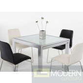 Modrest Nibble - Modern White Extensive Table