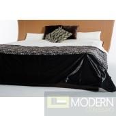 Modrest Novara Black Duvet Cover