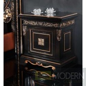 Novita Letto Black Nightstand