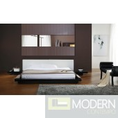 Modrest Opal - Black Gloss Japanese Style Platform Bed