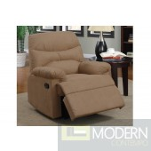 Saddle Microfiber  Microfiber Recliner MCGSL7056 free 24 to 72hrs Delivery in DMV area