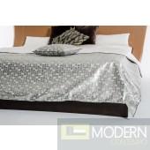Modrest Palladium Silver Duvet Cover