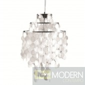 Pearl Hanging Chandelier, Mother of Pearl