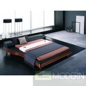 Modrest Portofino Modern Adjustable Leather Bed
