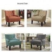Charla Modern Fabric Linen Accent Chair Free Free inside Delivery in DMV metro area within 24 to 72 hours,