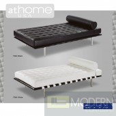 Quinn - Modern Tufted Leather Day Bed